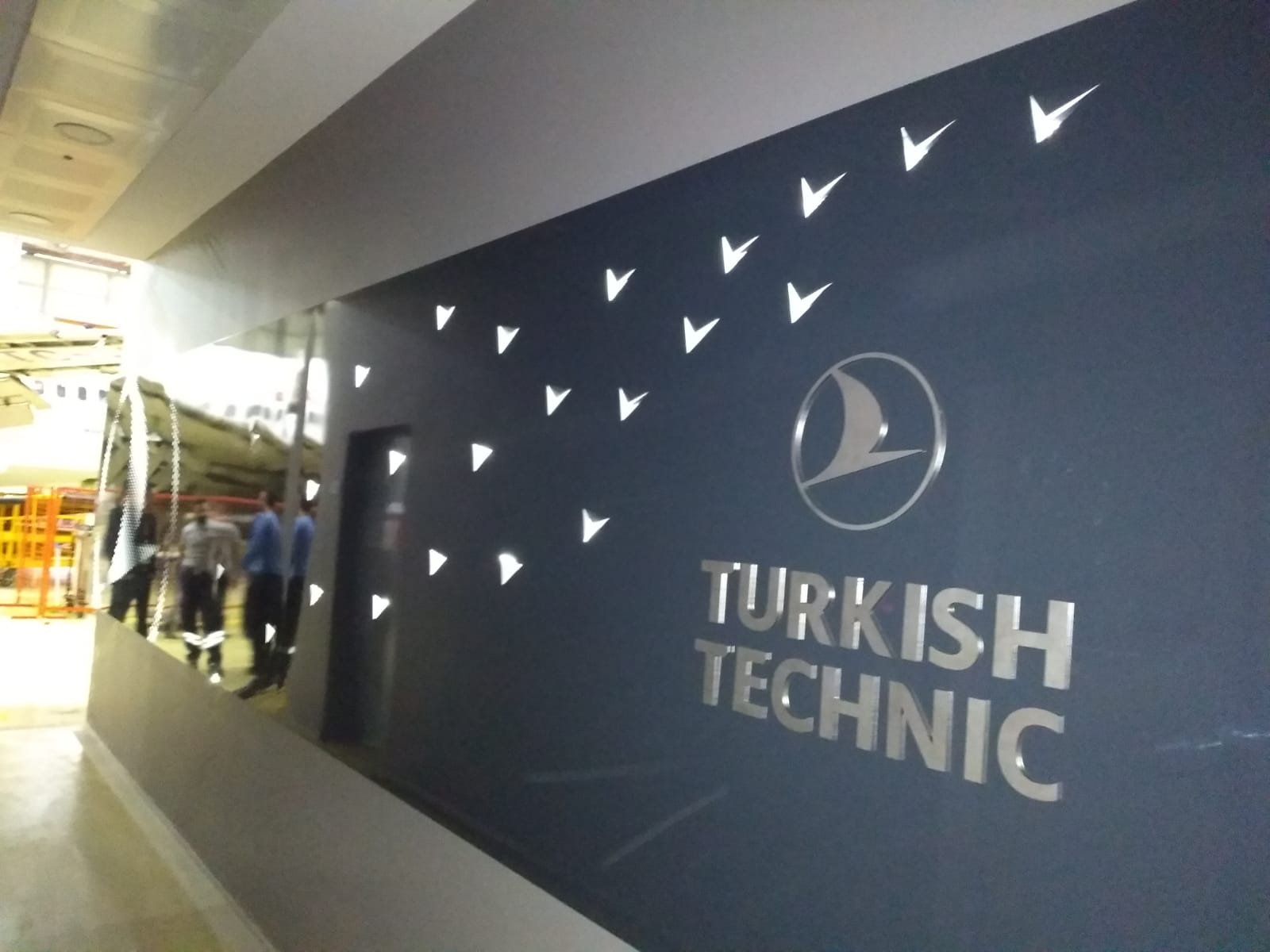 TURKISH AIRLINES KORİDOR TABELA